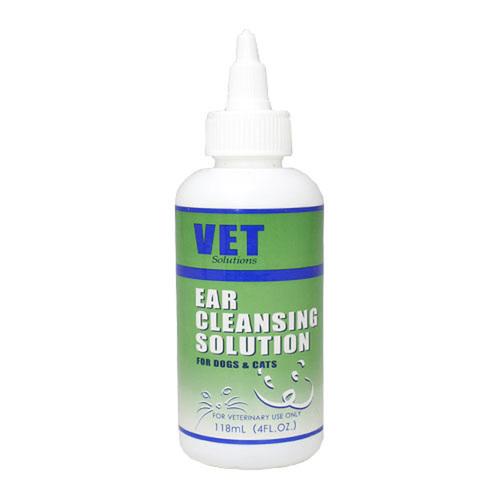 VET Solutions イヤークレンジングソリューション 犬猫用 118mL【在庫限り】