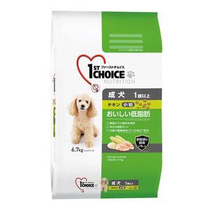 ファーストチョイス 成犬 小粒 チキン 6.7kg