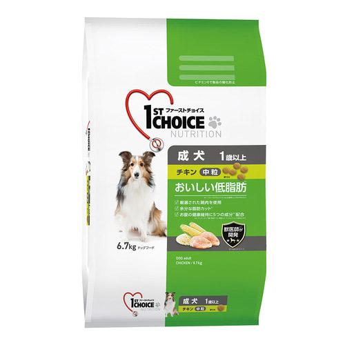 ファーストチョイス 成犬 中粒 チキン 6.7kg