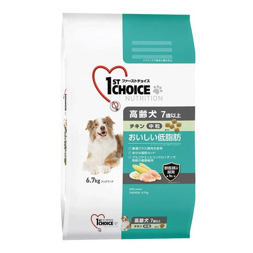 ファーストチョイス 高齢犬 中粒 チキン 6.7kg