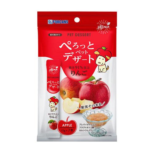 フォーキャンス ぺろっとペットデザート リンゴ 15gx7本