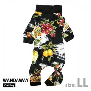 【WANDAWAY】つるつるロンパース・LLサイズ(アロハ) WTL-LL-ALH